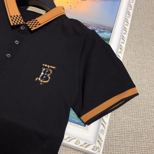 Replica Burberry T-Shirts Short Sleeved Polo For Men #798488 $28.13 USD for Wholesale