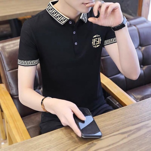 Fendi T-Shirts Short Sleeved Polo For Men #798499