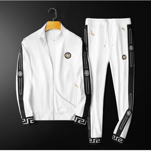 Versace Tracksuits Long Sleeved Zipper For Men #798531