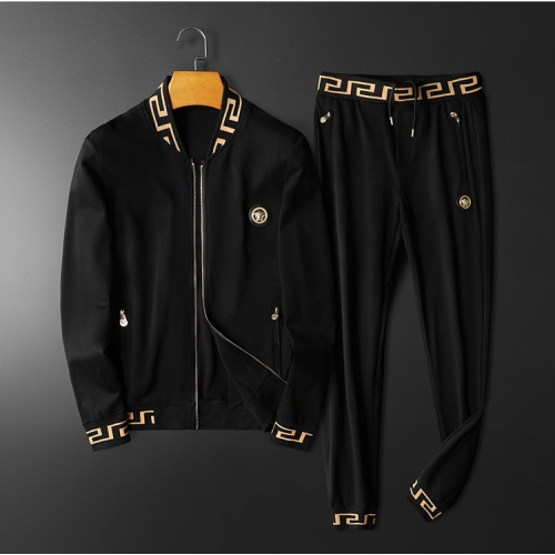 Versace Tracksuits Long Sleeved Zipper For Men #798532