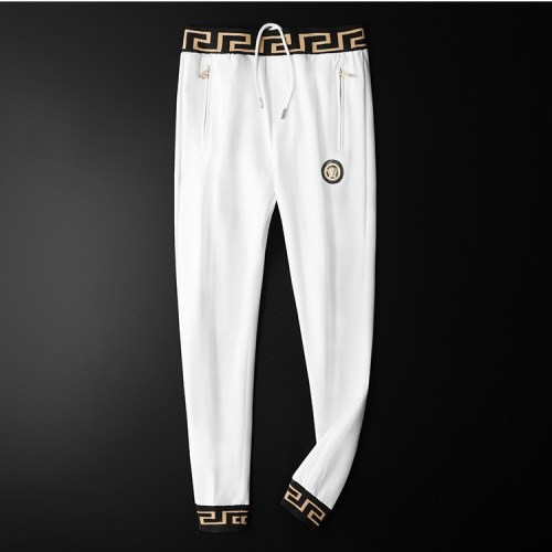 Replica Versace Tracksuits Long Sleeved Zipper For Men #798533 $95.06 USD for Wholesale