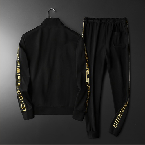 Replica Versace Tracksuits Long Sleeved Zipper For Men #798534 $95.06 USD for Wholesale