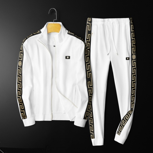 Versace Tracksuits Long Sleeved Zipper For Men #798535