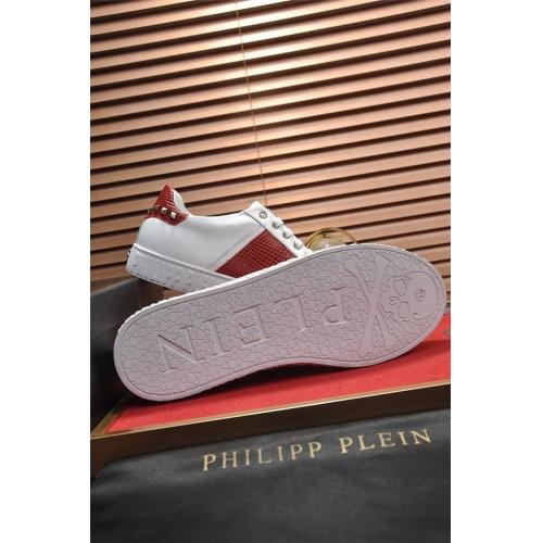Replica Philipp Plein PP Casual Shoes For Men #798579 $77.60 USD for Wholesale
