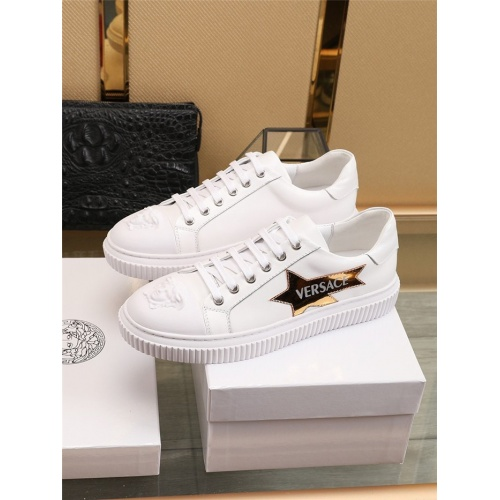 Replica Versace Casual Shoes For Men #798732 $77.60 USD for Wholesale