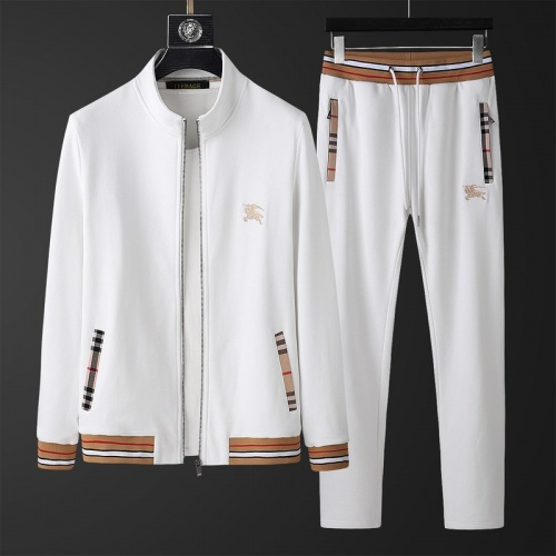 Burberry Tracksuits Long Sleeved Zipper For Men #798819