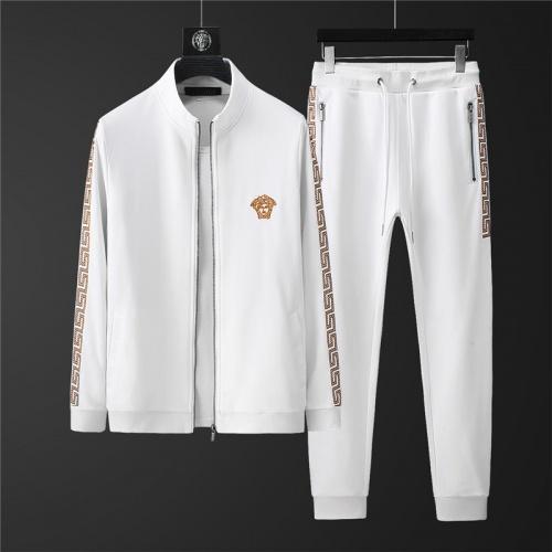 Versace Tracksuits Long Sleeved Zipper For Men #798825