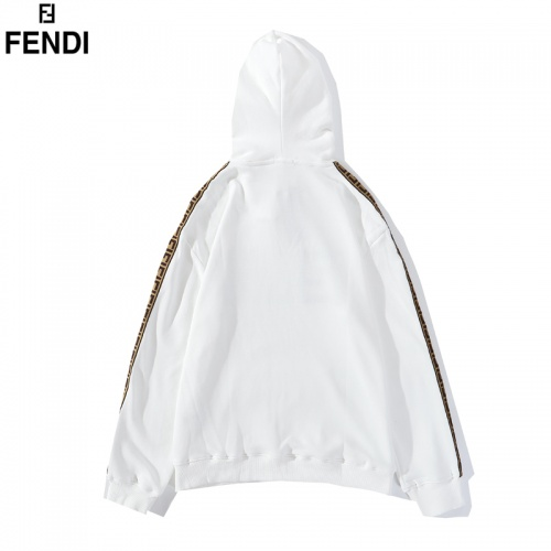 Replica Fendi Hoodies Long Sleeved Hat For Men #798859 $39.77 USD for Wholesale