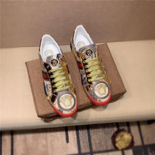Versace Casual Shoes For Men #798886 $69.84 USD, Wholesale Replica Versace Casual Shoes