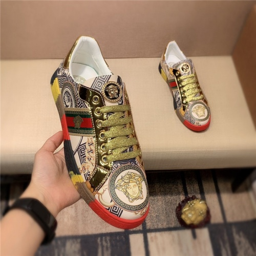 Replica Versace Casual Shoes For Men #798886 $69.84 USD for Wholesale