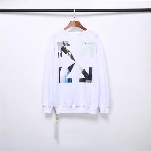 Off-White Hoodies Long Sleeved O-Neck For Men #799011