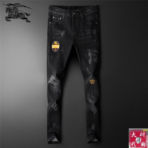 Burberry Jeans Trousers For Men #799055 $46.56 USD, Wholesale Replica Burberry Jeans