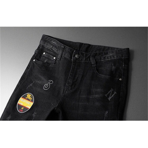 Replica Burberry Jeans Trousers For Men #799055 $46.56 USD for Wholesale