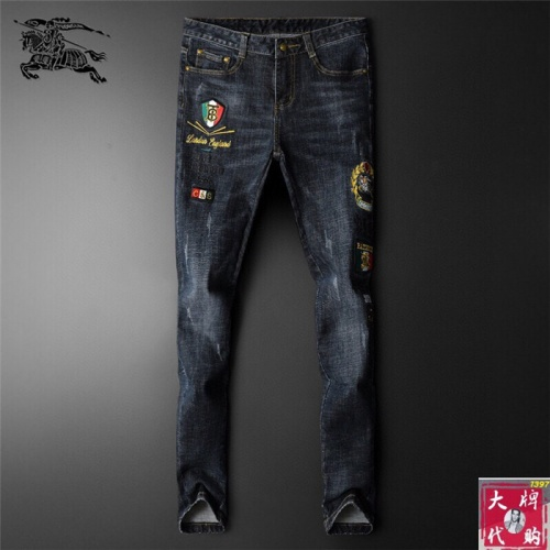 Burberry Jeans Trousers For Men #799056 $46.56 USD, Wholesale Replica Burberry Jeans