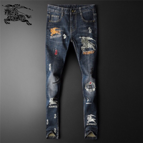 Burberry Jeans Trousers For Men #799057 $46.56 USD, Wholesale Replica Burberry Jeans