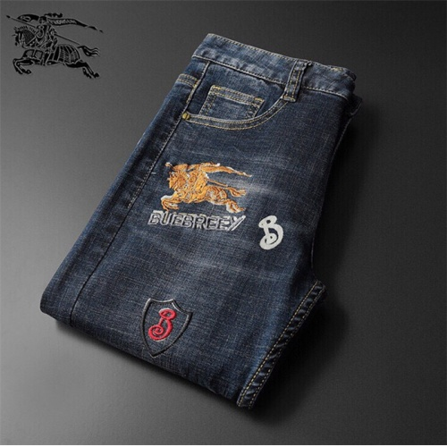Replica Burberry Jeans Trousers For Men #799057 $46.56 USD for Wholesale