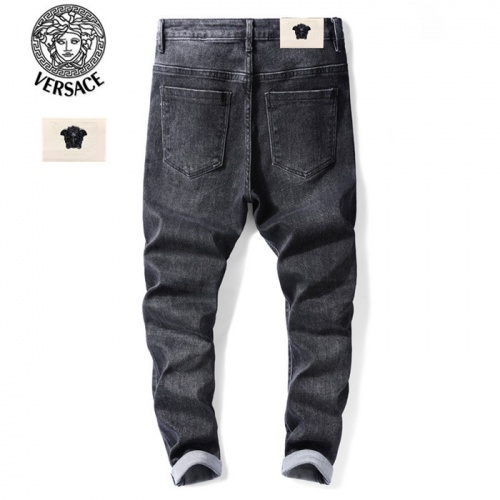 Replica Versace Jeans Trousers For Men #799059 $46.56 USD for Wholesale