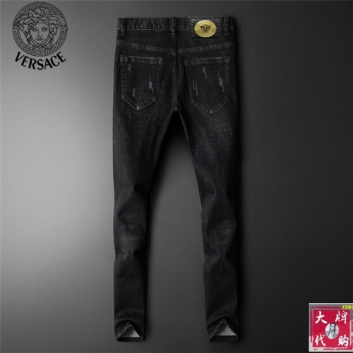 Replica Versace Jeans Trousers For Men #799061 $46.56 USD for Wholesale