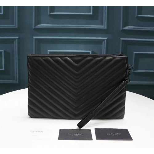 Replica Yves Saint Laurent YSL AAA Quality Wallets For Women #799068 $60.14 USD for Wholesale