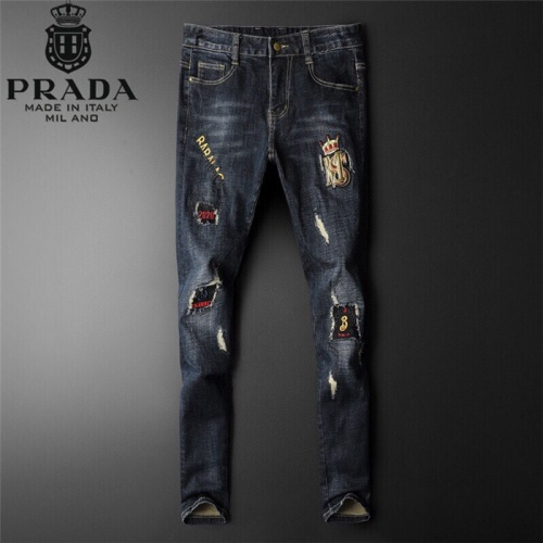 Prada Jeans Trousers For Men #799070