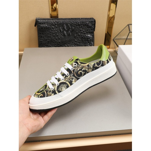 Replica Versace Casual Shoes For Men #799178 $73.72 USD for Wholesale