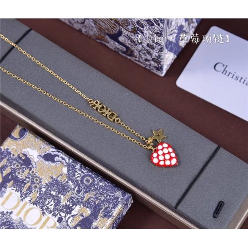 Christian Dior Necklace #799217 $28.13, Wholesale Replica Christian Dior Necklace