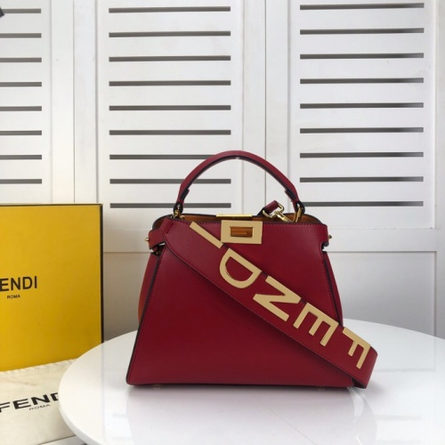 Fendi AAA Quality Handbags For Women #799320 $156.17, Wholesale Replica Fendi AAA Quality Handbags
