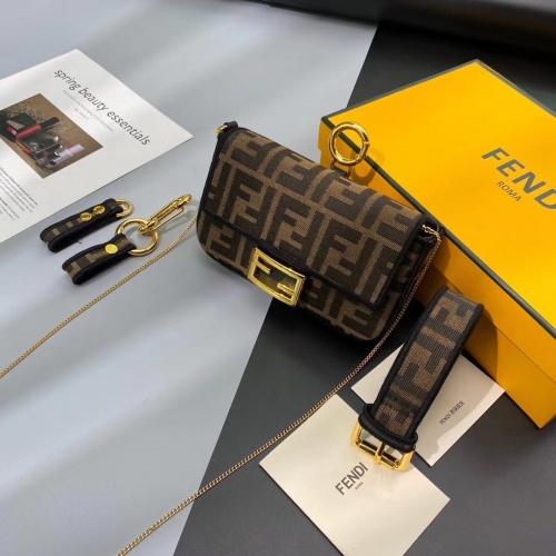 Fendi AAA Messenger Bags For Women #799326