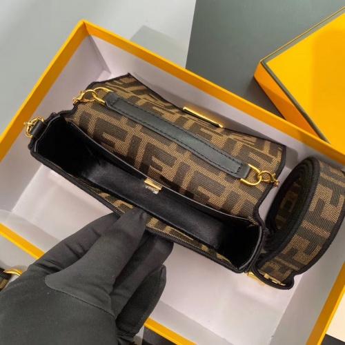 Replica Fendi AAA Messenger Bags For Women #799326 $98.94 USD for Wholesale