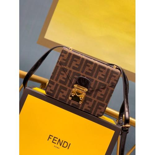 Fendi AAA Messenger Bags For Women #799334