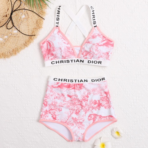 Christian Dior Bathing Suits Sleeveless For Women #799497
