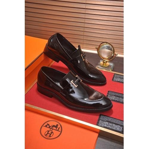 Hermes Leather Shoes For Men #799603