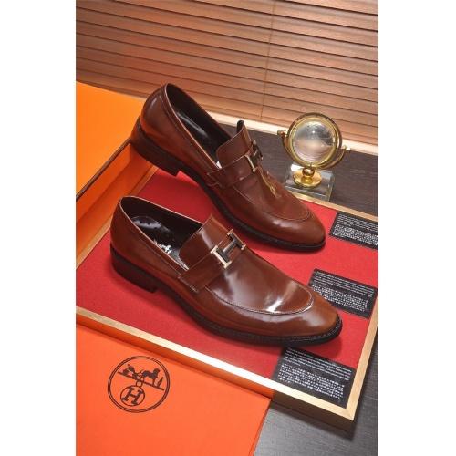 Hermes Leather Shoes For Men #799604