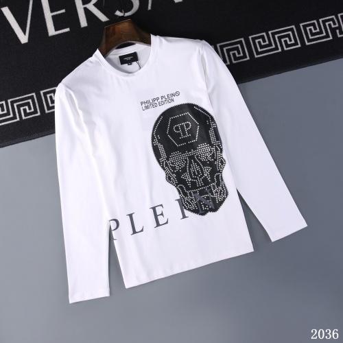Philipp Plein PP T-Shirts Long Sleeved O-Neck For Men #799617