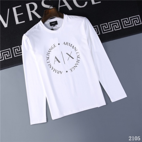 Armani T-Shirts Long Sleeved O-Neck For Men #799624