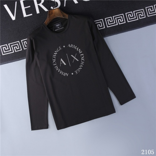 Armani T-Shirts Long Sleeved O-Neck For Men #799625