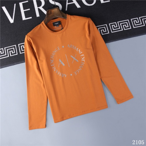Armani T-Shirts Long Sleeved O-Neck For Men #799626