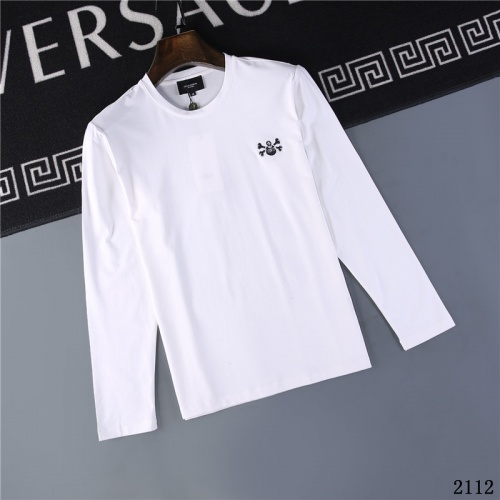 Christian Dior T-Shirts Long Sleeved O-Neck For Men #799643