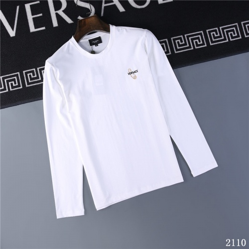 Versace T-Shirts Long Sleeved O-Neck For Men #799650