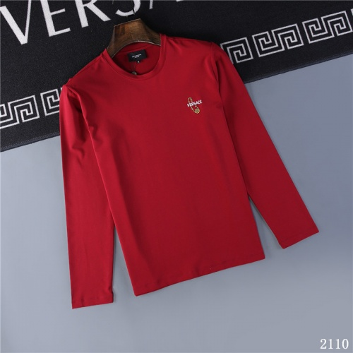 Versace T-Shirts Long Sleeved O-Neck For Men #799651