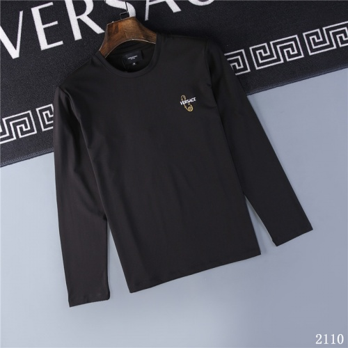 Versace T-Shirts Long Sleeved O-Neck For Men #799652