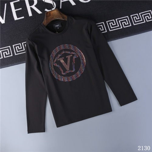 Versace T-Shirts Long Sleeved O-Neck For Men #799653