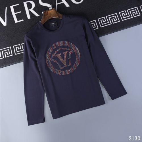 Versace T-Shirts Long Sleeved O-Neck For Men #799654