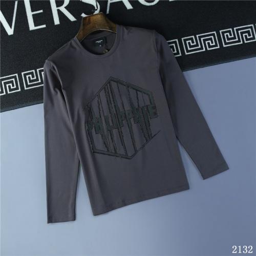 Philipp Plein PP T-Shirts Long Sleeved O-Neck For Men #799657