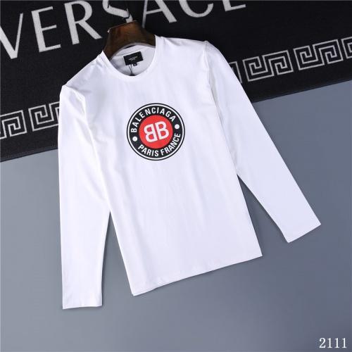 Balenciaga T-Shirts Long Sleeved O-Neck For Men #799658