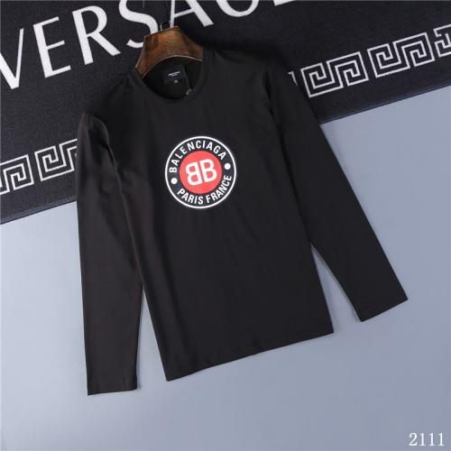 Balenciaga T-Shirts Long Sleeved O-Neck For Men #799659