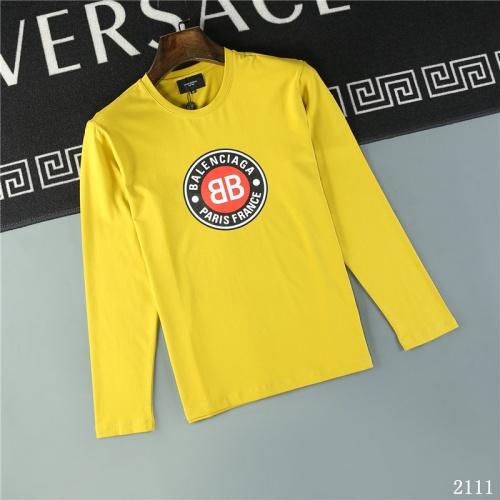 Balenciaga T-Shirts Long Sleeved O-Neck For Men #799660