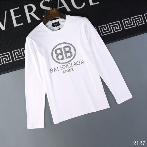 Balenciaga T-Shirts Long Sleeved O-Neck For Men #799661