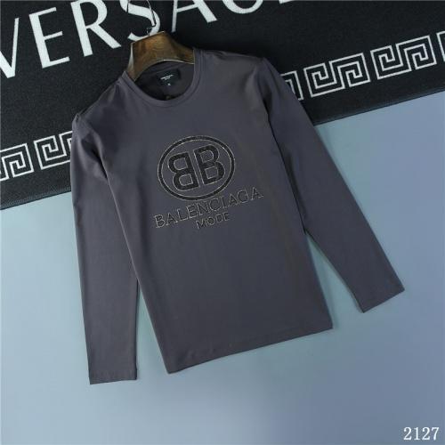 Balenciaga T-Shirts Long Sleeved O-Neck For Men #799663
