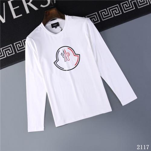 Moncler T-Shirts Long Sleeved O-Neck For Men #799675